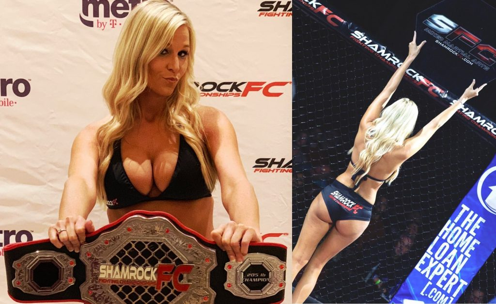 Meet Shamrock FC ring card girl Whitney McCallister