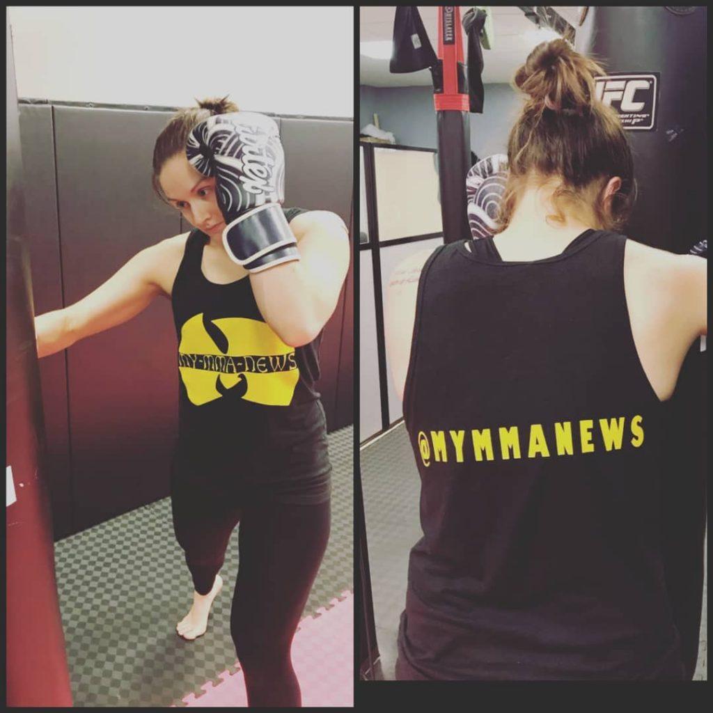 Rebecca Evans, MyMMANews, Cowboy Fight Series