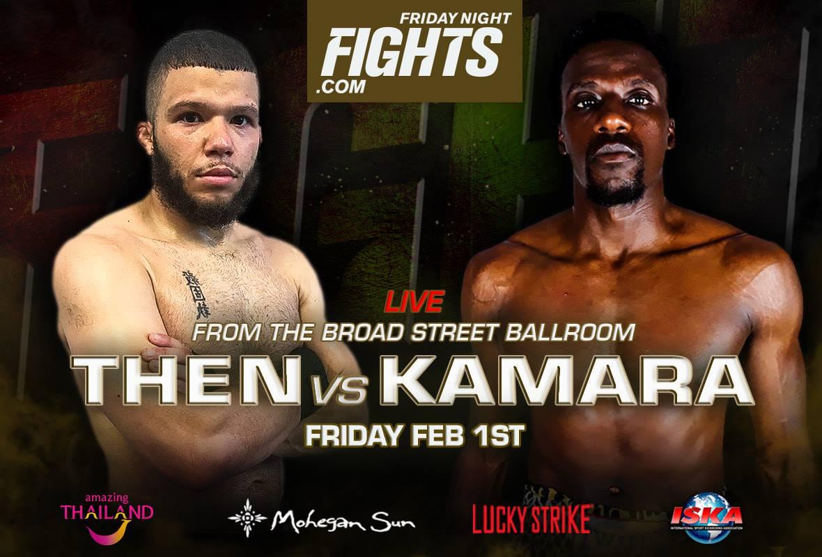 Brima Kamara, Friday Night Fights
