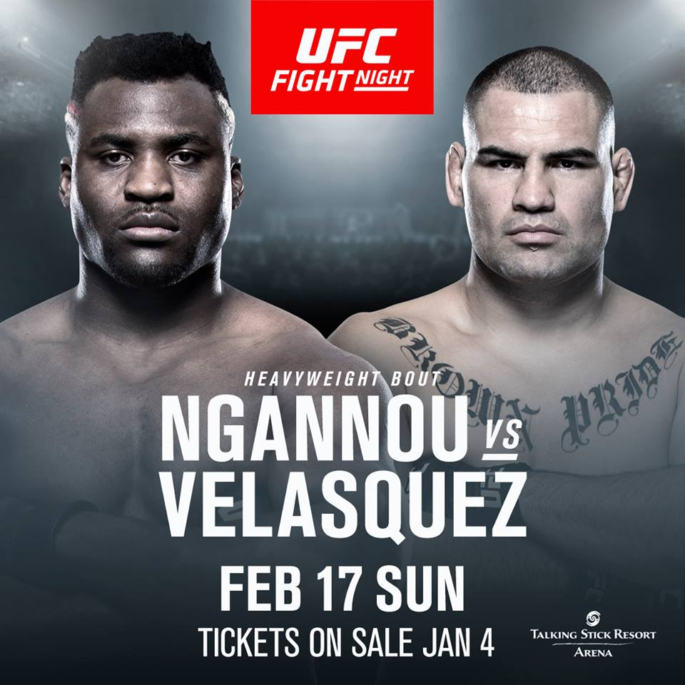 UFC Debuts on ESPN with Ngannou vs. Velasquez