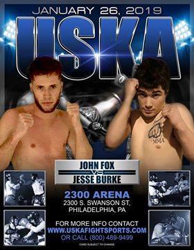 Jesse Burke, John Fox, USKA