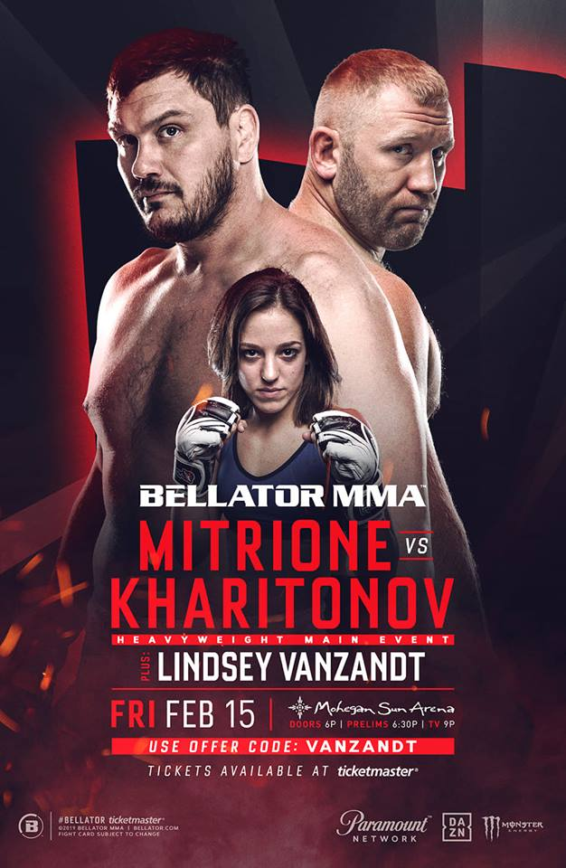 Atomweights Lindsey VanZandt and Marisa Messer-Belenchia added to Bellator 215