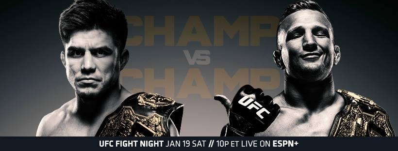 UFC on ESPN+ 1 Results - UFC Brooklyn - Cejudo vs Dillashaw