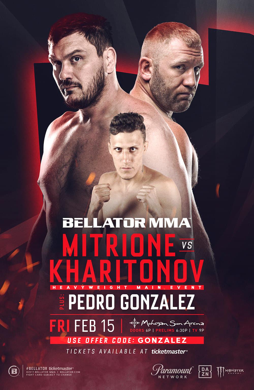 Pedro Gonzlez, Bellator 215