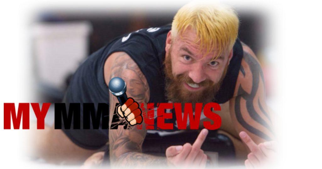 Bellator fighter and Geordie Shore spat goes viral