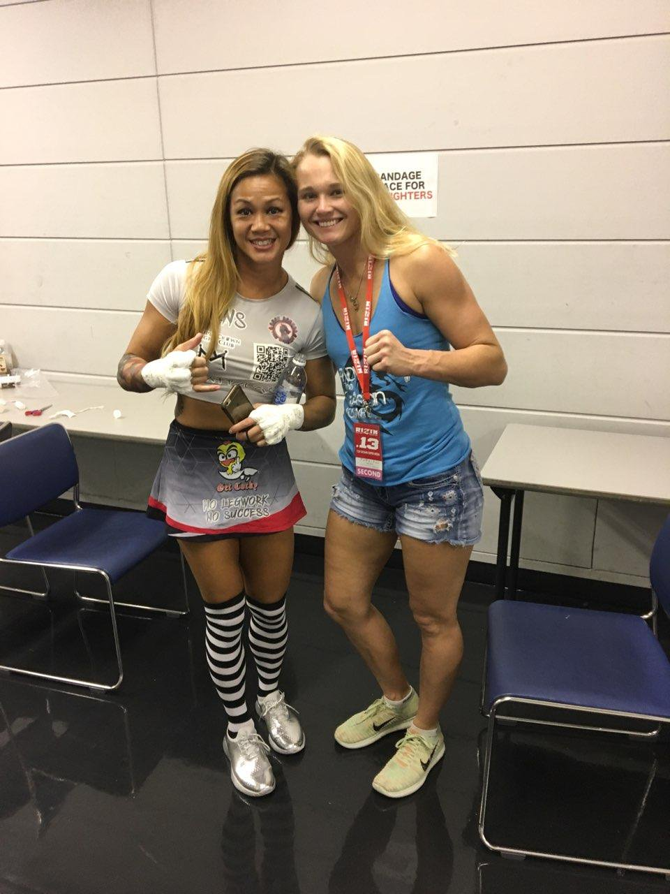 Andy Nguyen and Andrea Lee