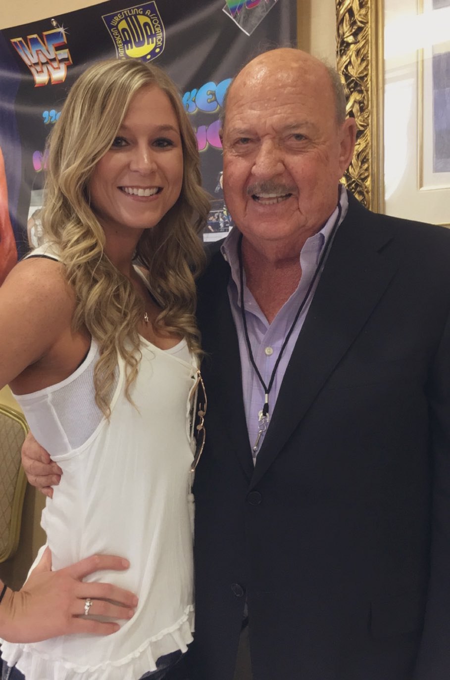 Whitney McCallister, and Mean Gene Okerlund