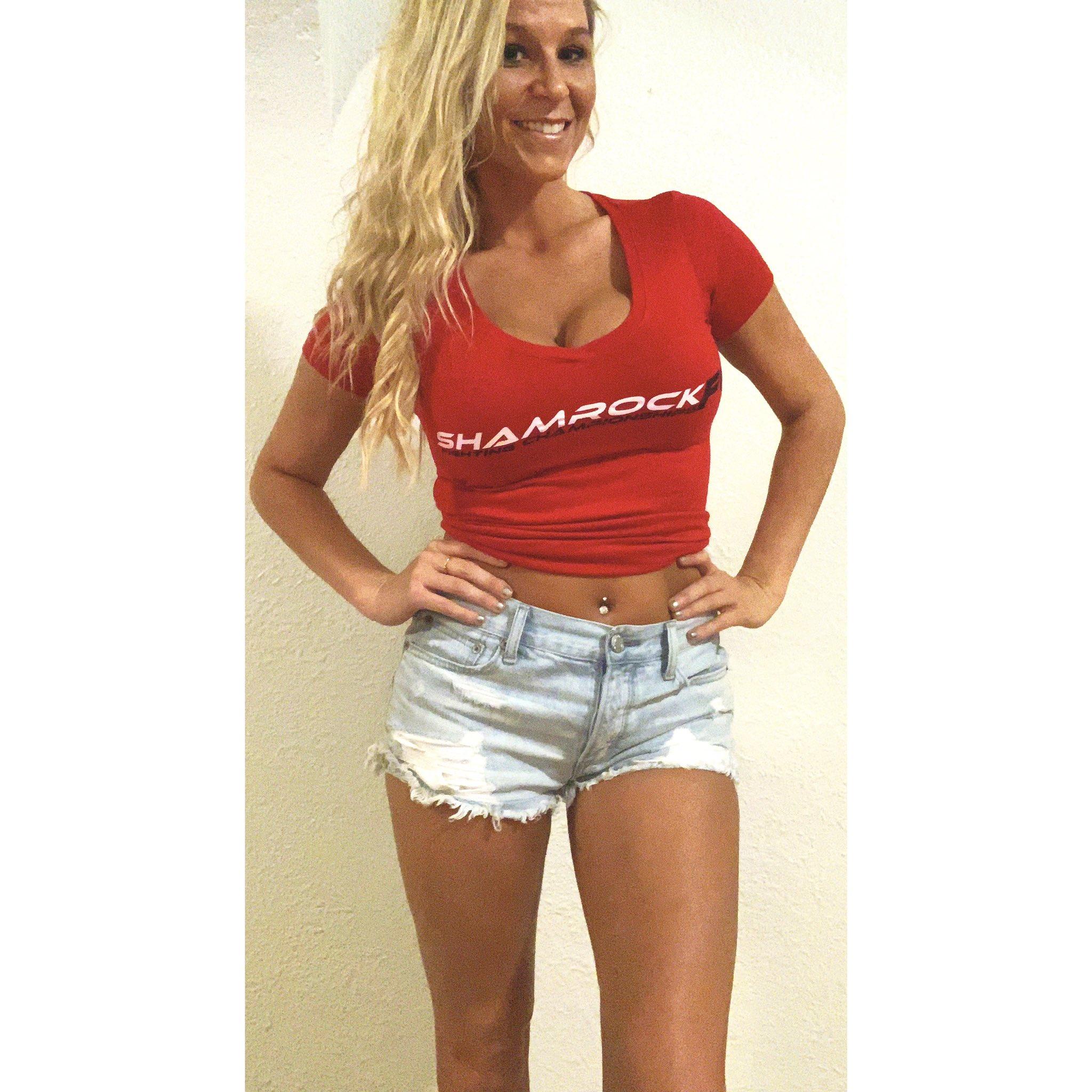 Whitney McCallister, Shamrock FC, ring card girl