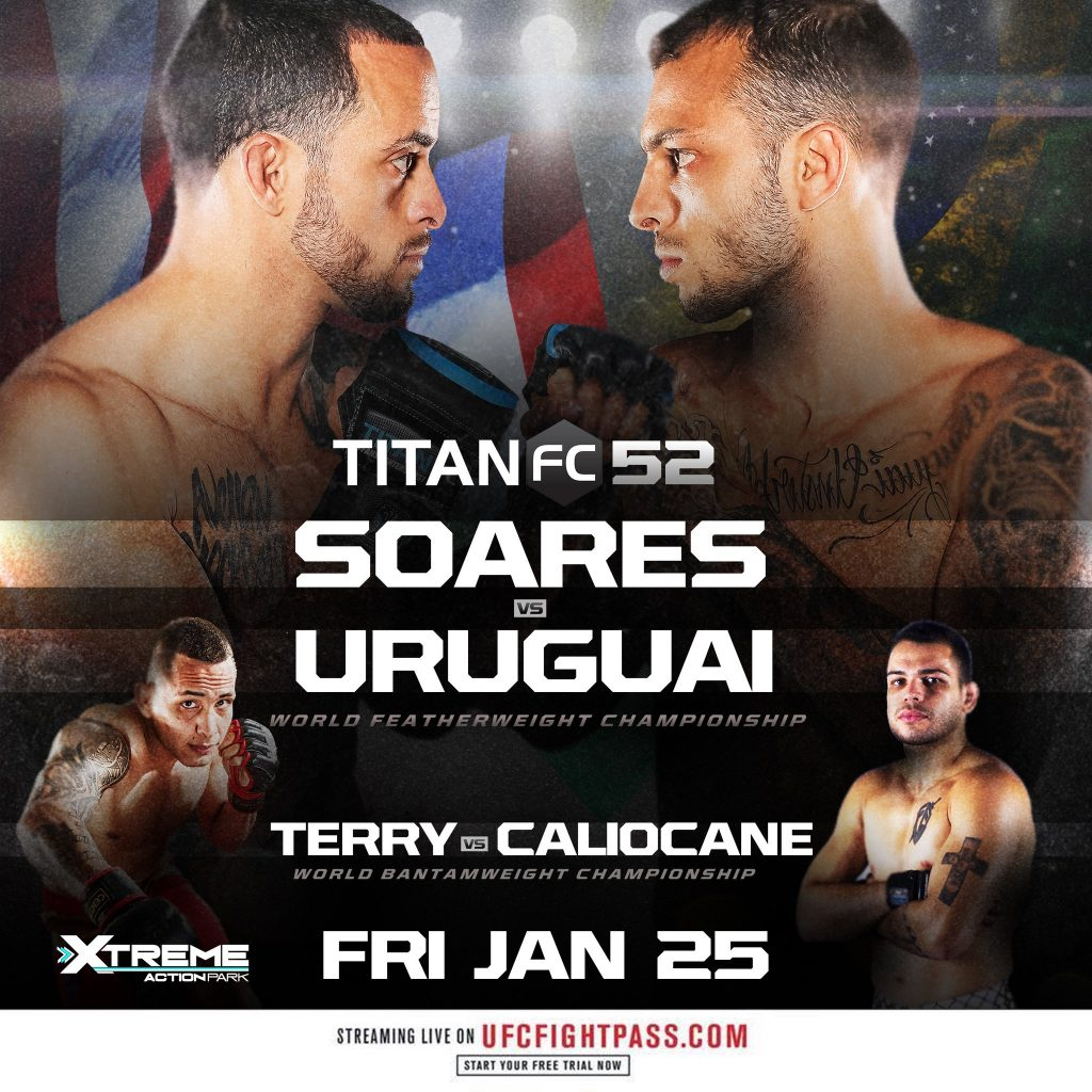 Titan FC 52 weigh-in results, video - 2 titles are on the line