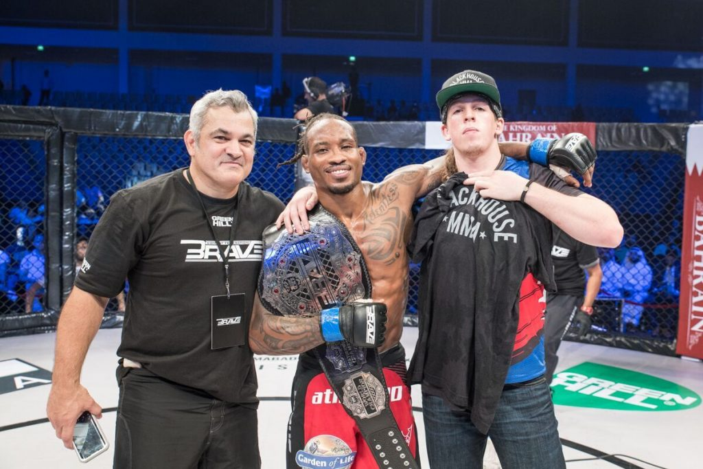 Champion Bubba Jenkins eyes second belt after Brave 22