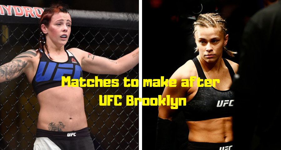 Matches to make after UFC Brooklyn