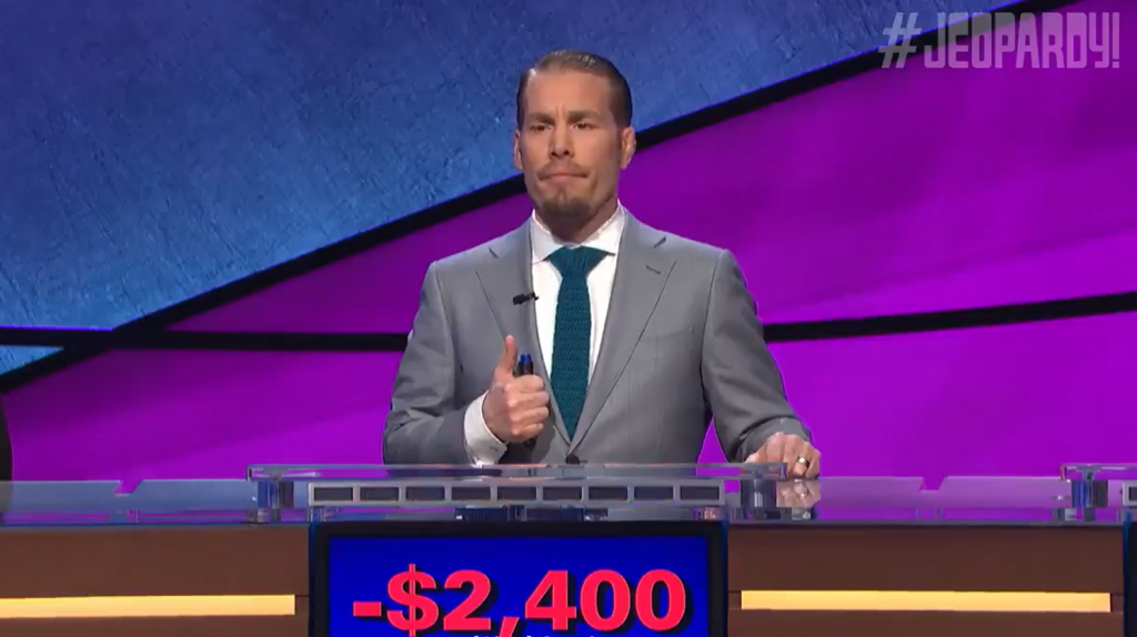 Former UFC fighter Dave Kaplan on Jeopardy
