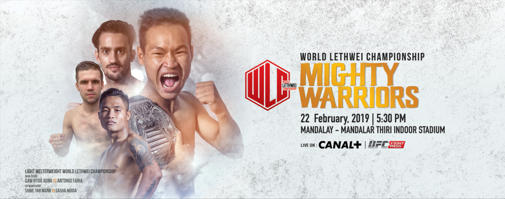 World Lethwei Championship to hold Mighty Warriors on UFC Fight Pass