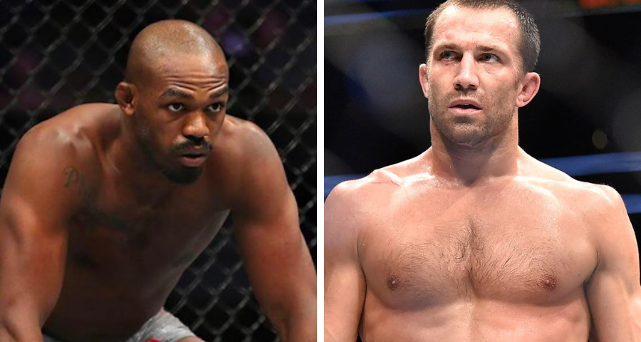 "Luke Rockhold to Jon Jones: ""Hold tight – I'm coming, Princess"""