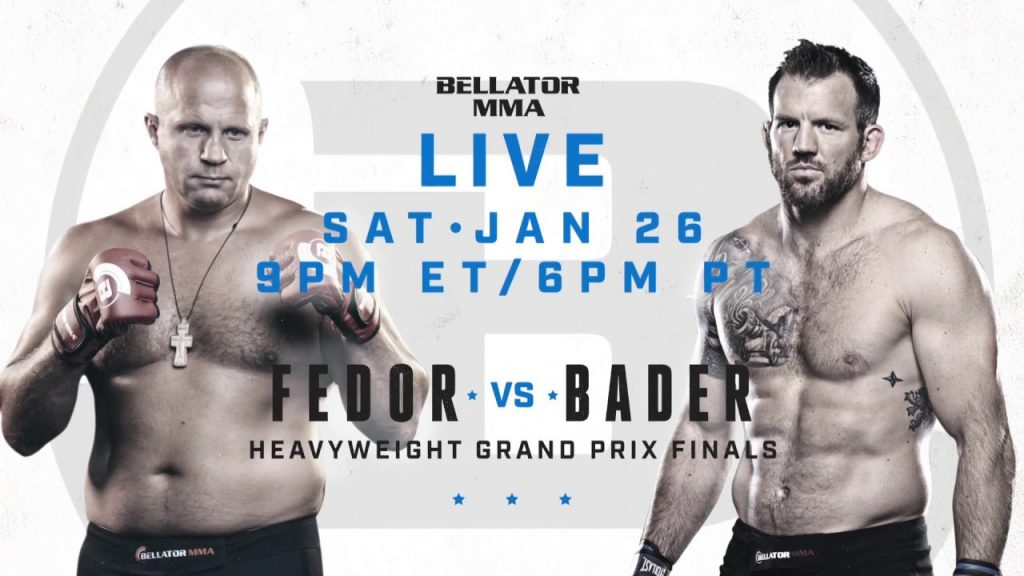 Bellator 214 Results – Emelianenko vs. Bader