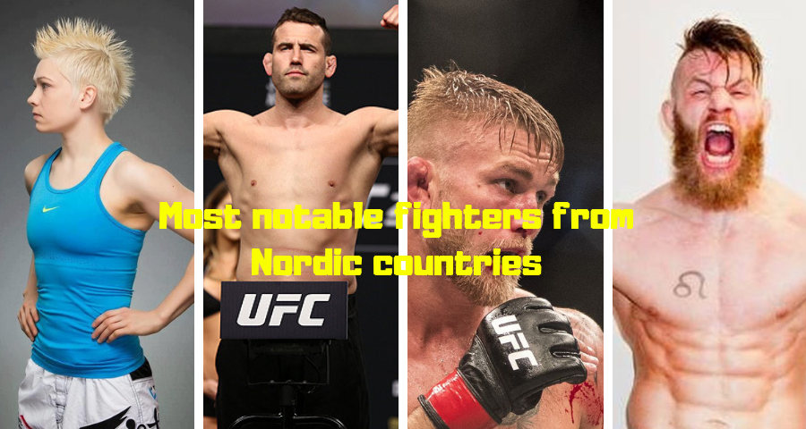 Most notable fighters from Nordic countries