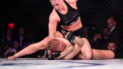 Kayla Harrison defeated Moriel Charneski, PFL Championship