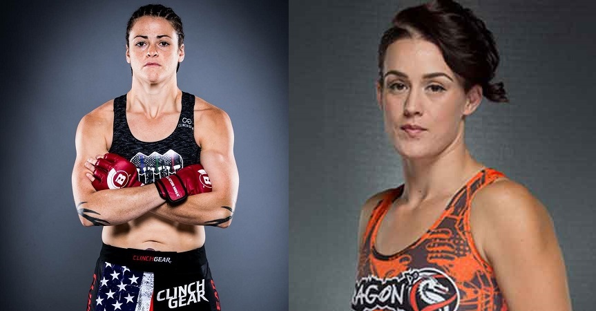 Amanda Bell vs. Amber Leibrock confirmed for Bellator 215