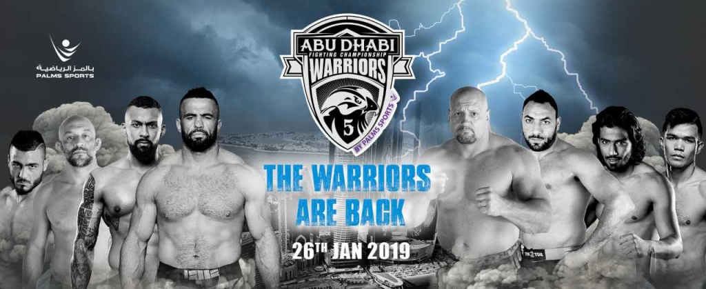 Abu Dhabi Warriors Fighting Championship is Back on January 26