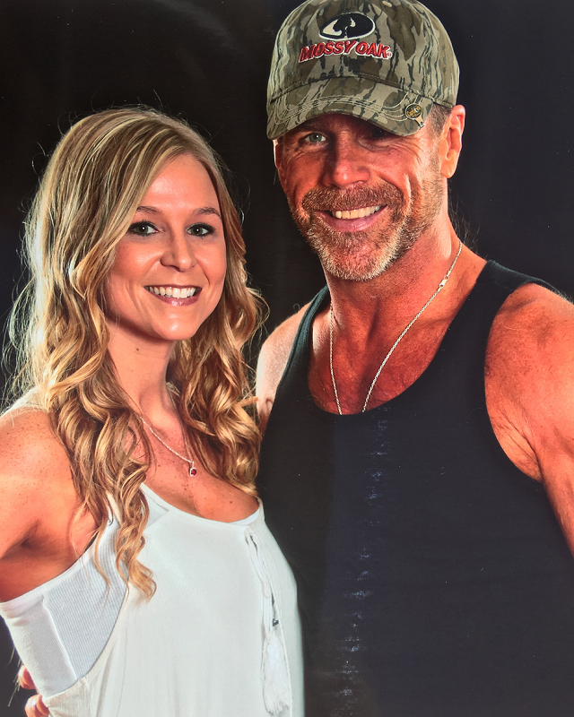 Whitney McCallister and Shawn Michaels