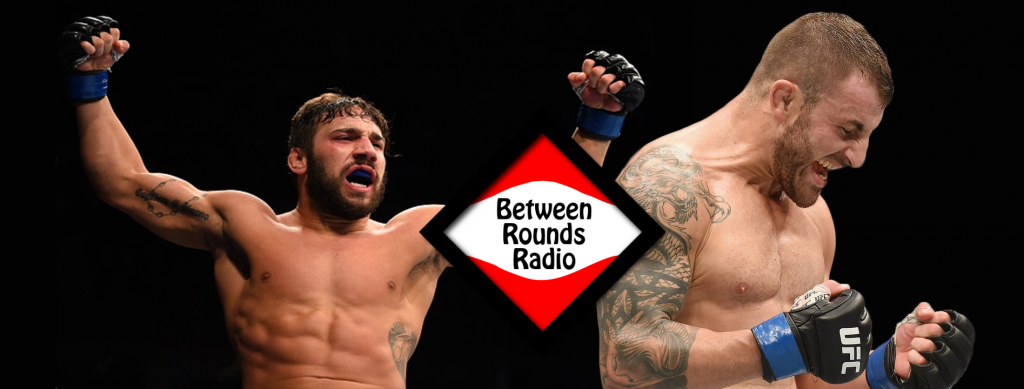 Alex Volkanovski and Jimmie Rivera on Between Rounds Radio - Episode154
