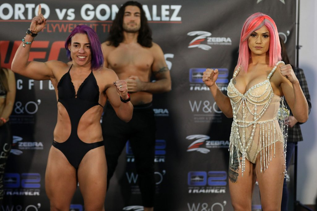 Invicta FC 34 results - Porto vs Gonzalez for flyweight title