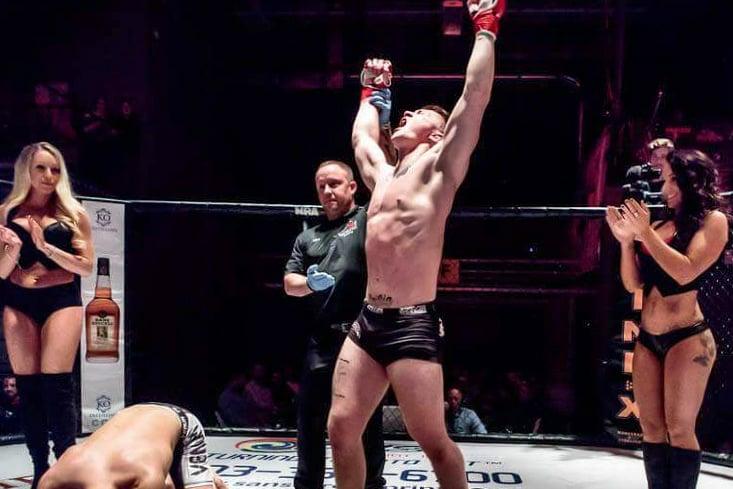 Zach Krapf looking for 2nd round TKO at Stellar Fights 40