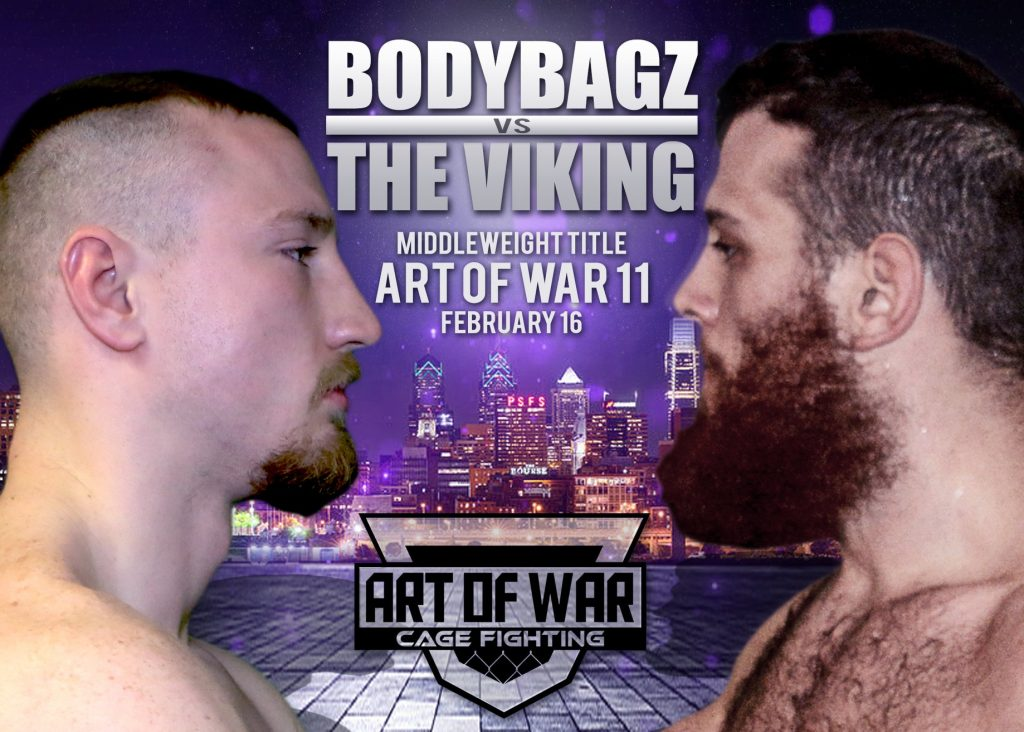 Art of War Cage Fighting 11 results - Pyfer vs. Roncoroni