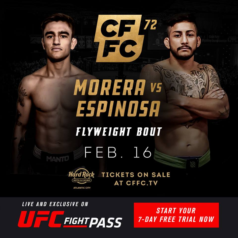 CFFC 72, Tom Espinosa