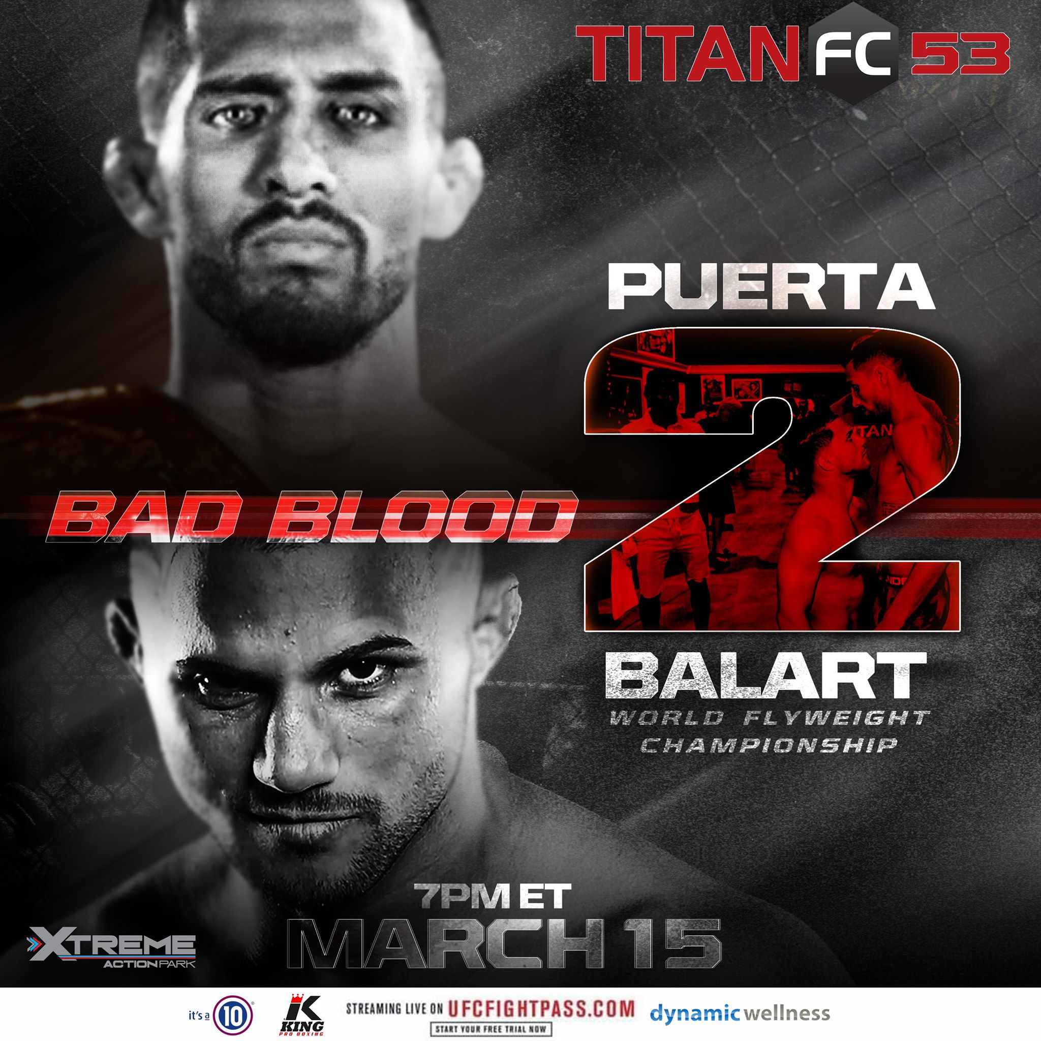 Titan FC 53, Juan Puerta, Gustavo Balart