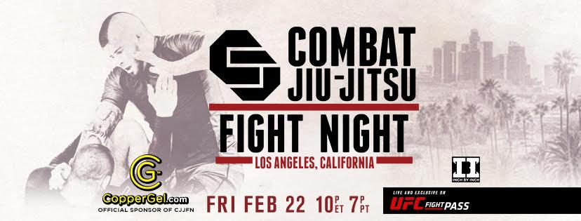 Combat Jiu Jitsu Fight Night – CJJFN Preview