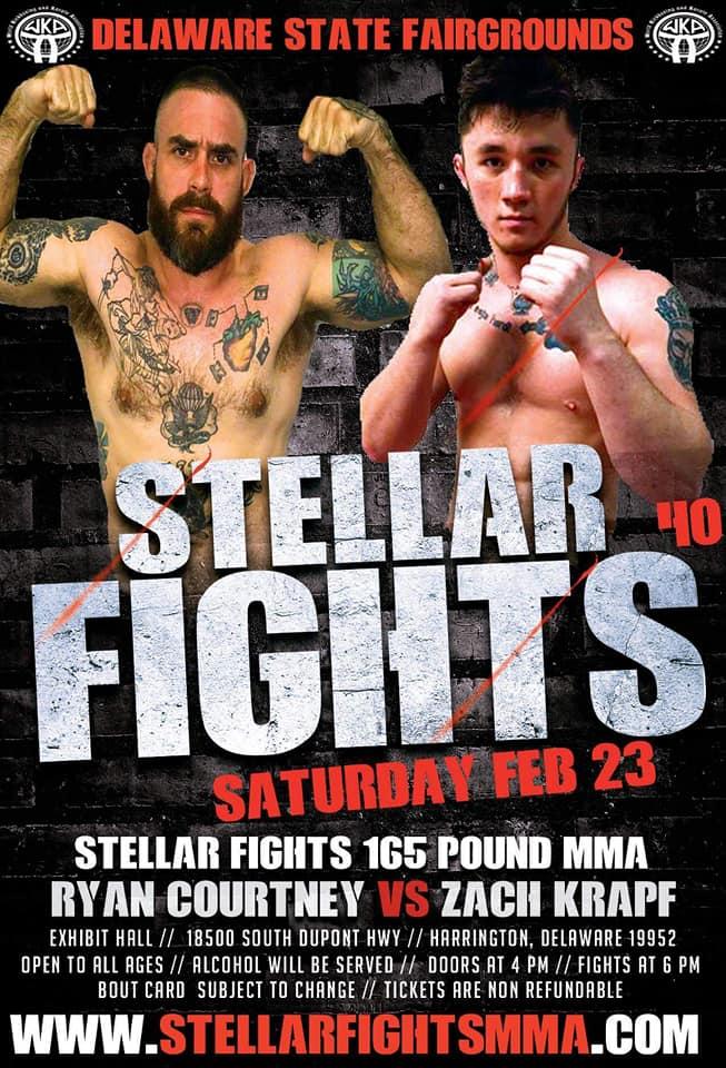 Zach Krapf, Stellar Fights 40
