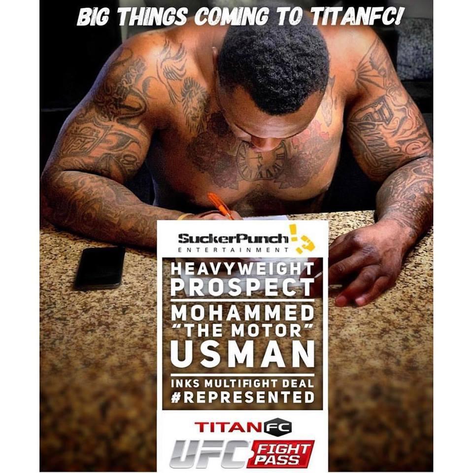 Mohammed Usman, Titan FC 53