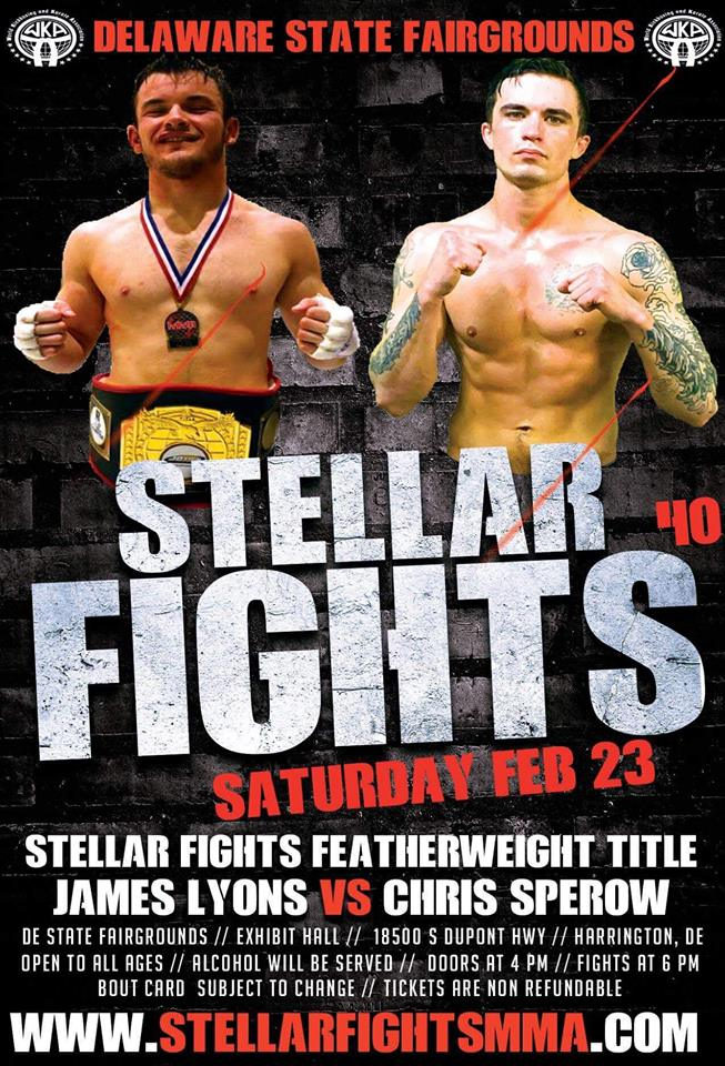 Stellar Fights 40, James Lyons
