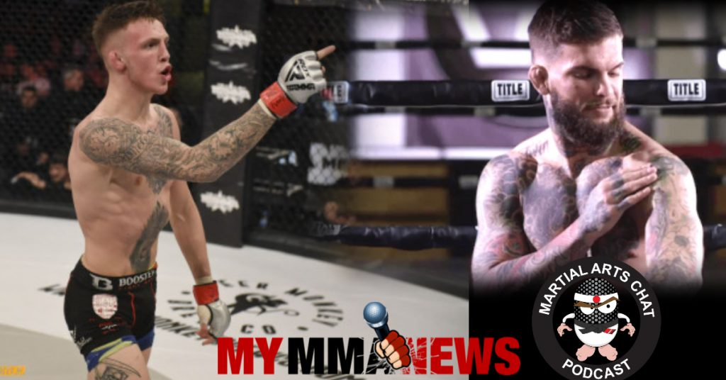 Cody Garbrandt tattoos