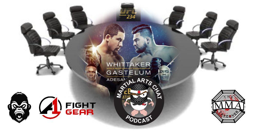 UFC 234 Roundtable
