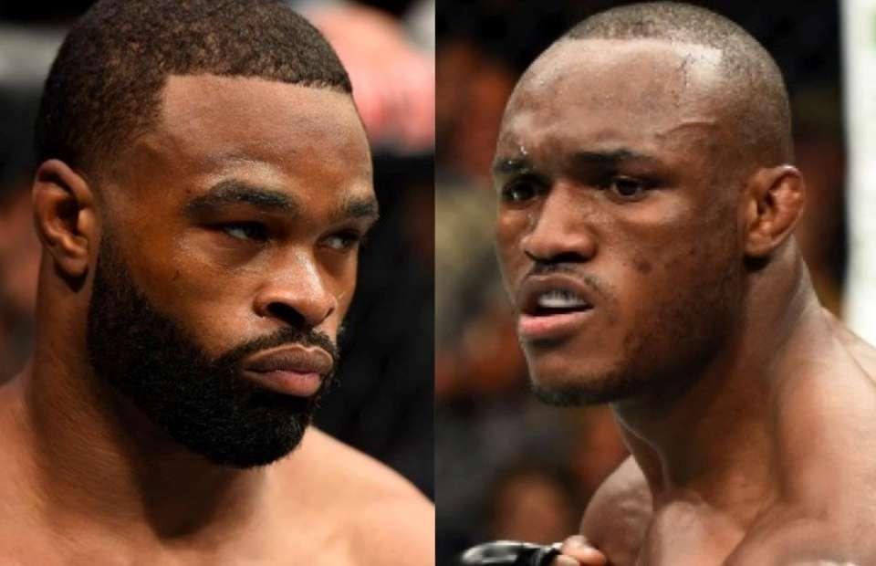 Kamaru Usman, Tyron Woodley, UFC 235