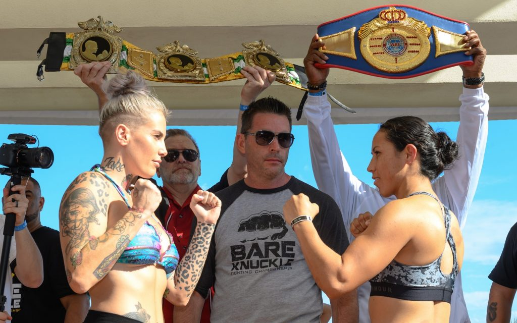 Bare Knuckle FC 4, Bec Rawlings, David Feldman
