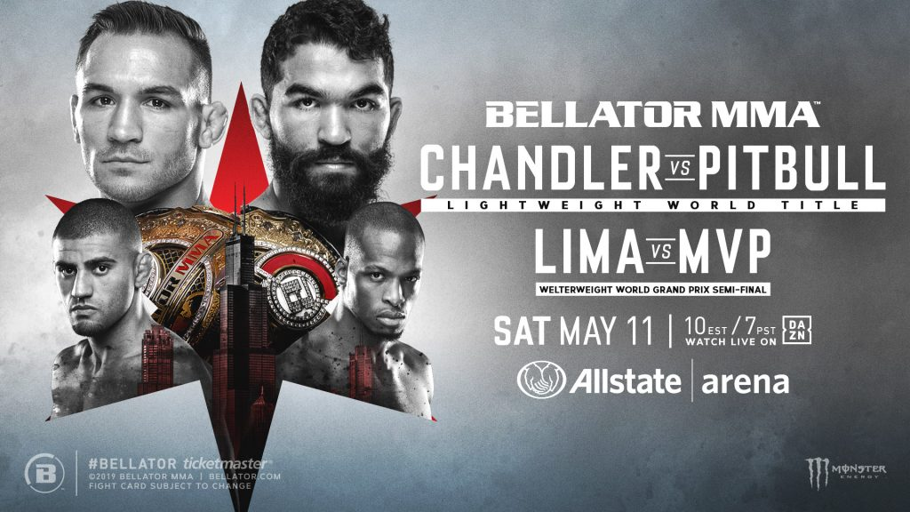 Bellator Returns to Allstate Arena in Chicago on Saturday, May 11