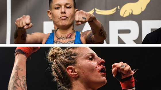 """Christine Ferea on BKFC 5 fight with Britain Hart: """"I'll finish what Bec couldn't"""""""