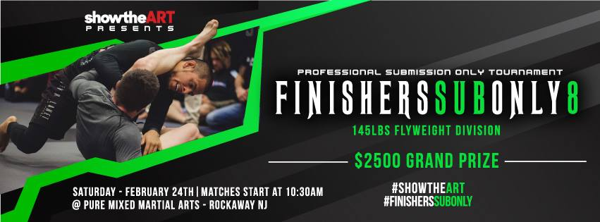 Finishers Sub Only 8