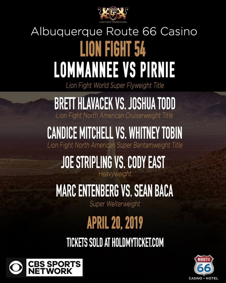 Lion Fights Bringing World Class Muay Thai to Route 66 Casino with Trio of Title Fights