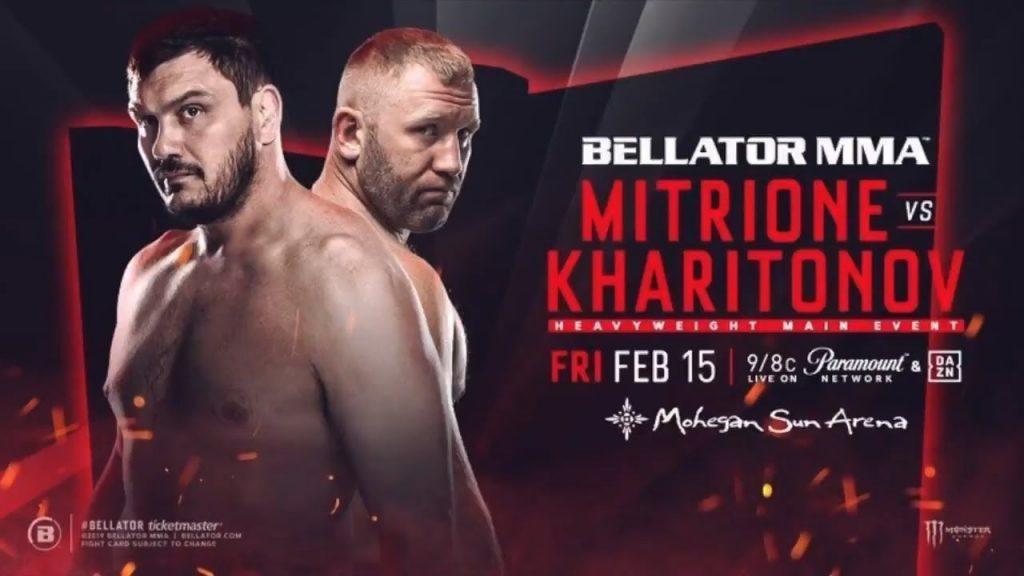 Bellator 215 results - Mitrione vs Kharitonov