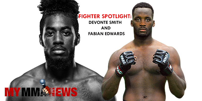 Fighter Spotlight: Devonte Smith and Fabian Edwards
