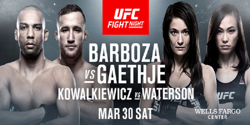 UFC Philadelphia to be headlined by Justin Gaethje vs Edson Barboza