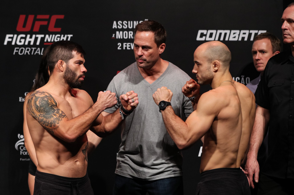 UFC Fight Night Fortaleza Results - Assucao vs. Moraes 2