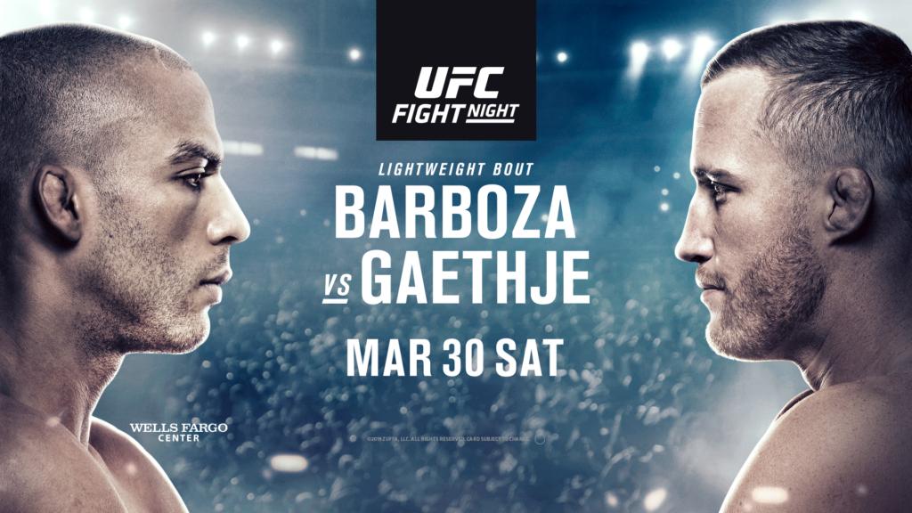 UFC on ESPN 2 Results - UFC Philadelphia - Barboza vs. Gaethje