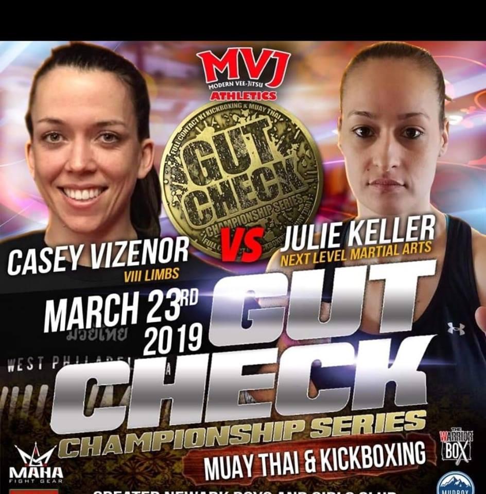 Juli Keller, Gut Check Championship