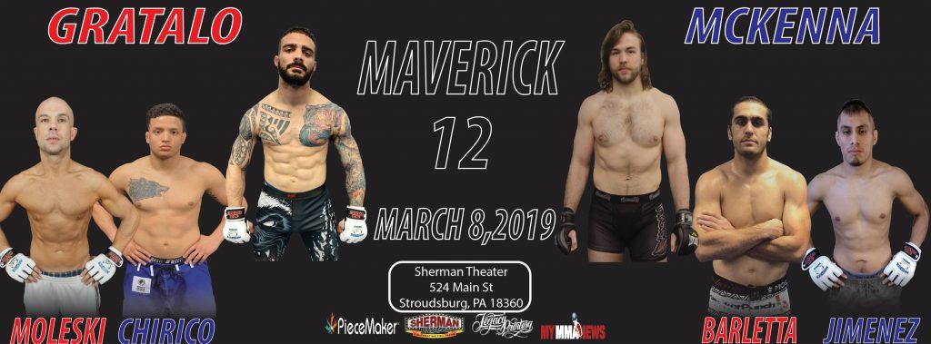 Maverick 12 results - Gratalo vs. McKenna