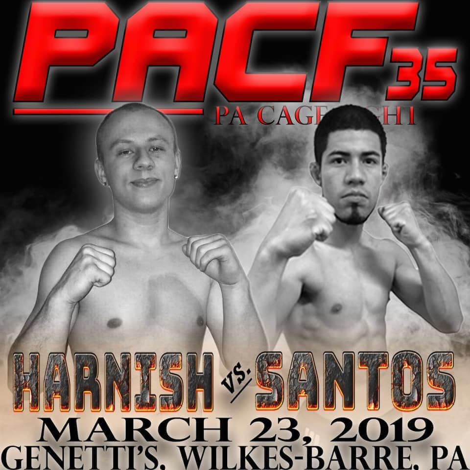Dylan Harnish, PA Cage Fight 35